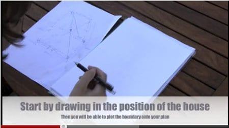How to draw a garden site survey plan to scale [part 2]