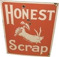 The Honest Scrap Award!