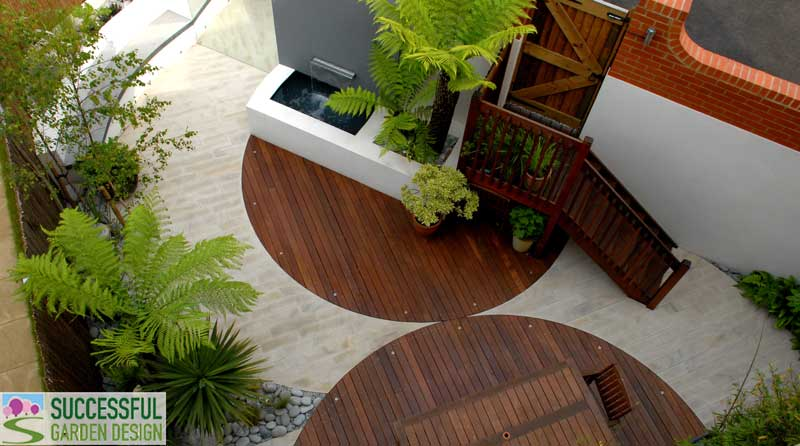 Garden design service for Successful garden design