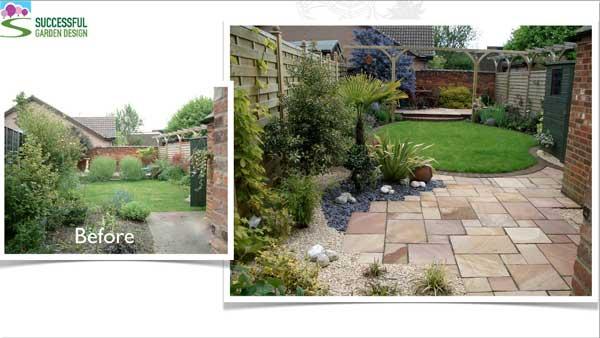 Small Garden Design 600 x 338
