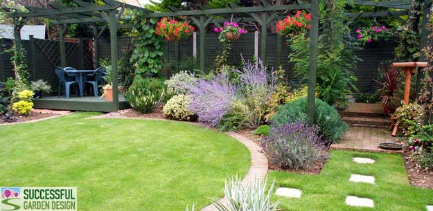 Uye home garden design for Successful garden design
