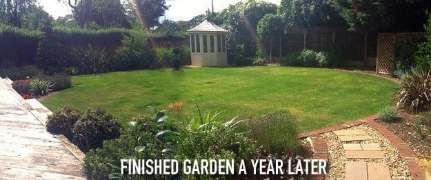Large square garden makeover – Case study