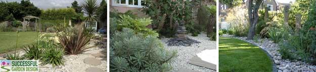 Garden-gravel