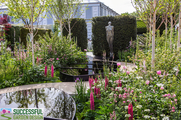 """Modern Materials at the Chelsea Flower Show – """"Take-Home"""" Ideas"""