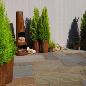 Bradstone Blended Natural Sandstone - Paver - Rustic Buff - 600x900