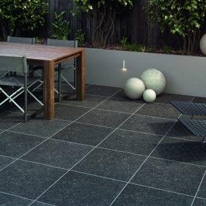 Bradstone Causse - Paver - Dark Grey - 600x600
