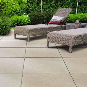 Bradstone Mode Textured - Paver - Shell - 600x600