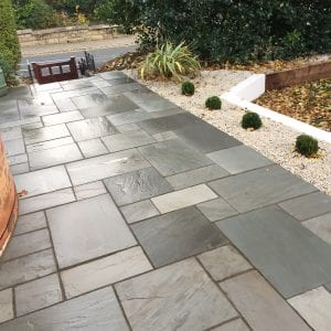 Bradstone Natural Sandstone - Paver - Silver Grey - 900x600