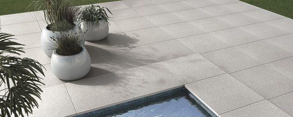 Bradstone, Pauta Porcelain Paving Silver Grey 600 x 600 x 20 - 60 Per Pack