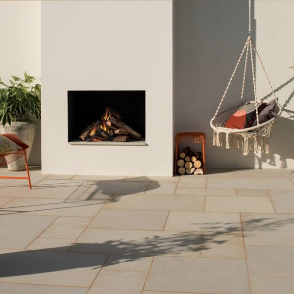 Bradstone, Smooth Natural Sandstone Paving New Dune Patio Pack - 15.30 m2 Per Pack